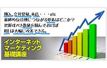 宣伝会議「インターネットマーケティング基礎講座」